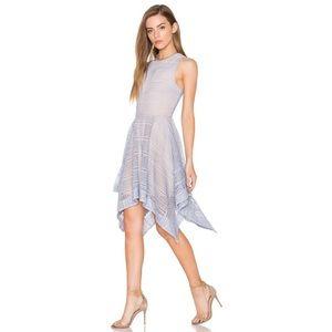 KEEPSAKE Sweet Nothing Dress Pastel Blue Lace
